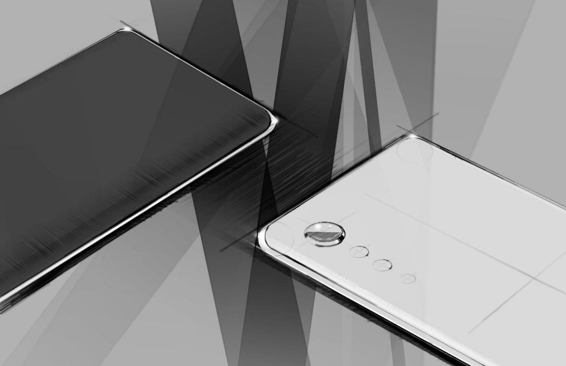 LG toont designschetsen voor aankomende smartphone