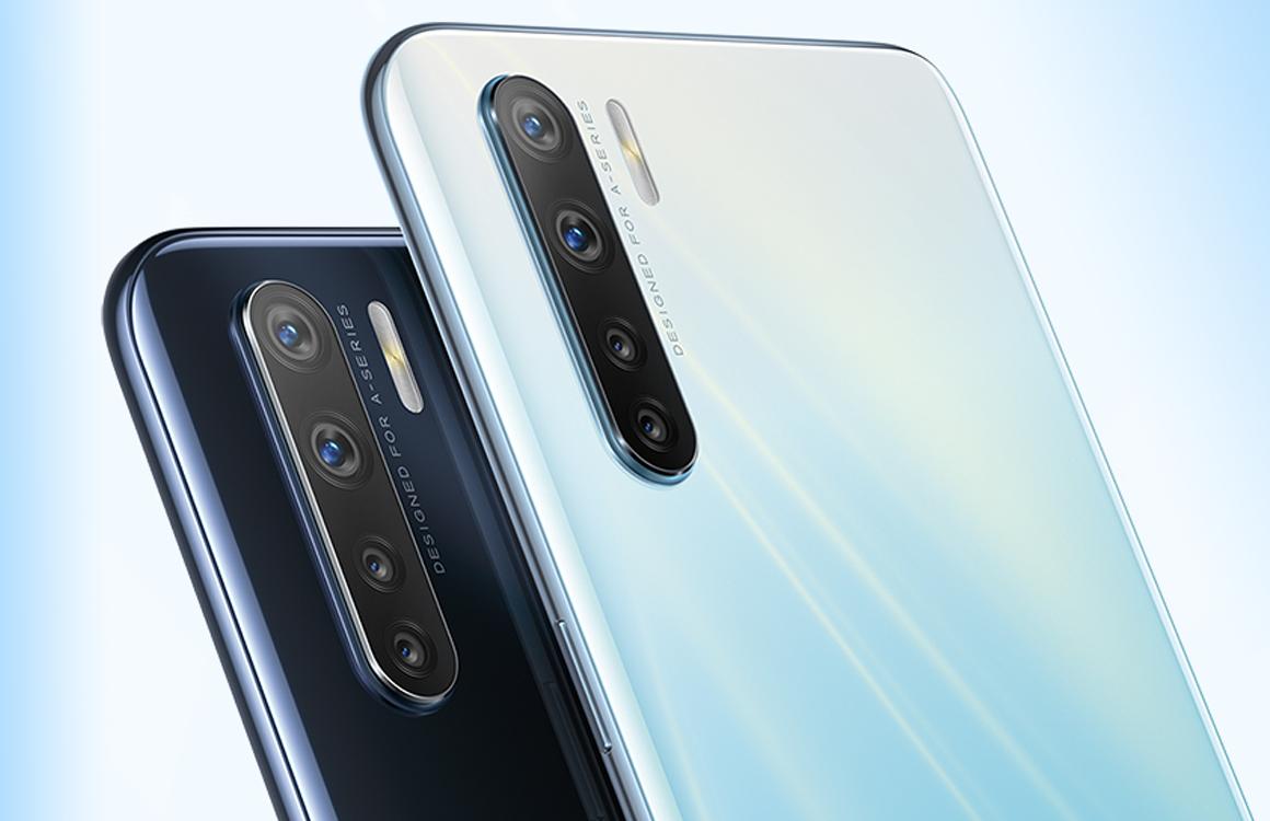 Oppo A91 officieel: budgettelefoon met viervoudige camera