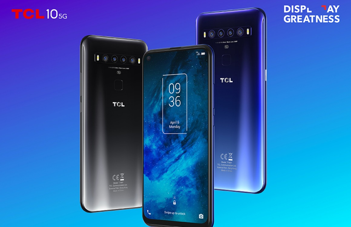 tcl 10 5g officieel