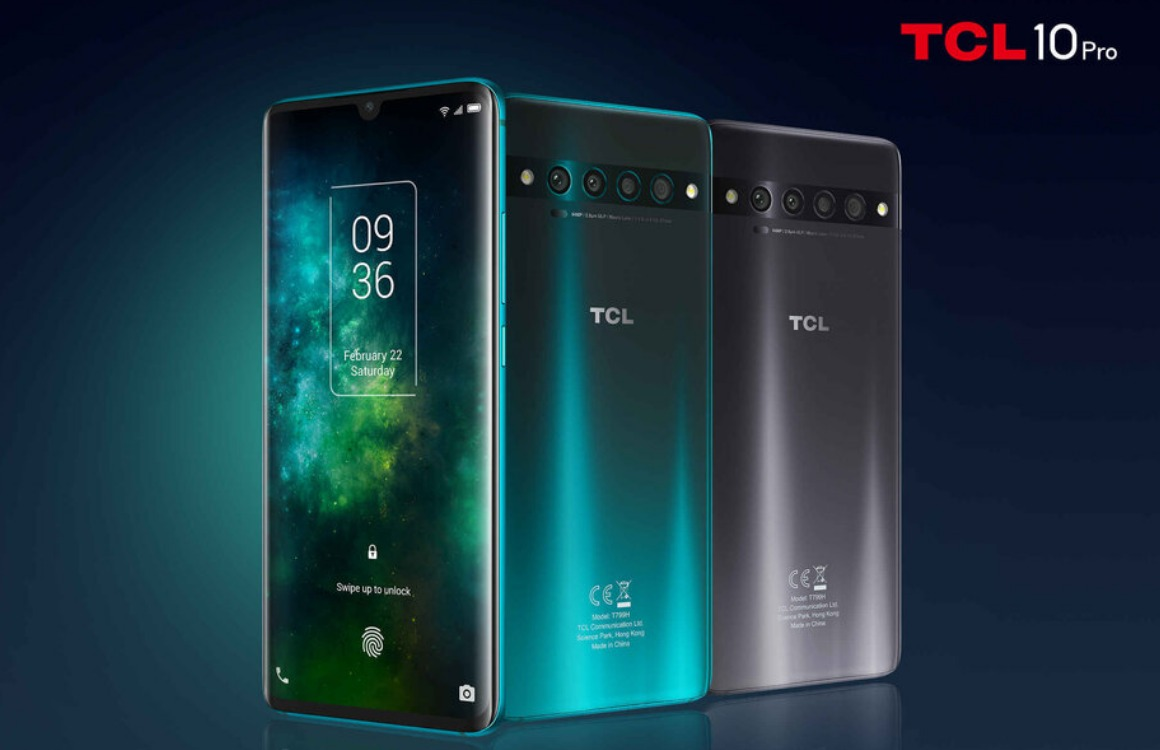 tcl 10 pro officieel