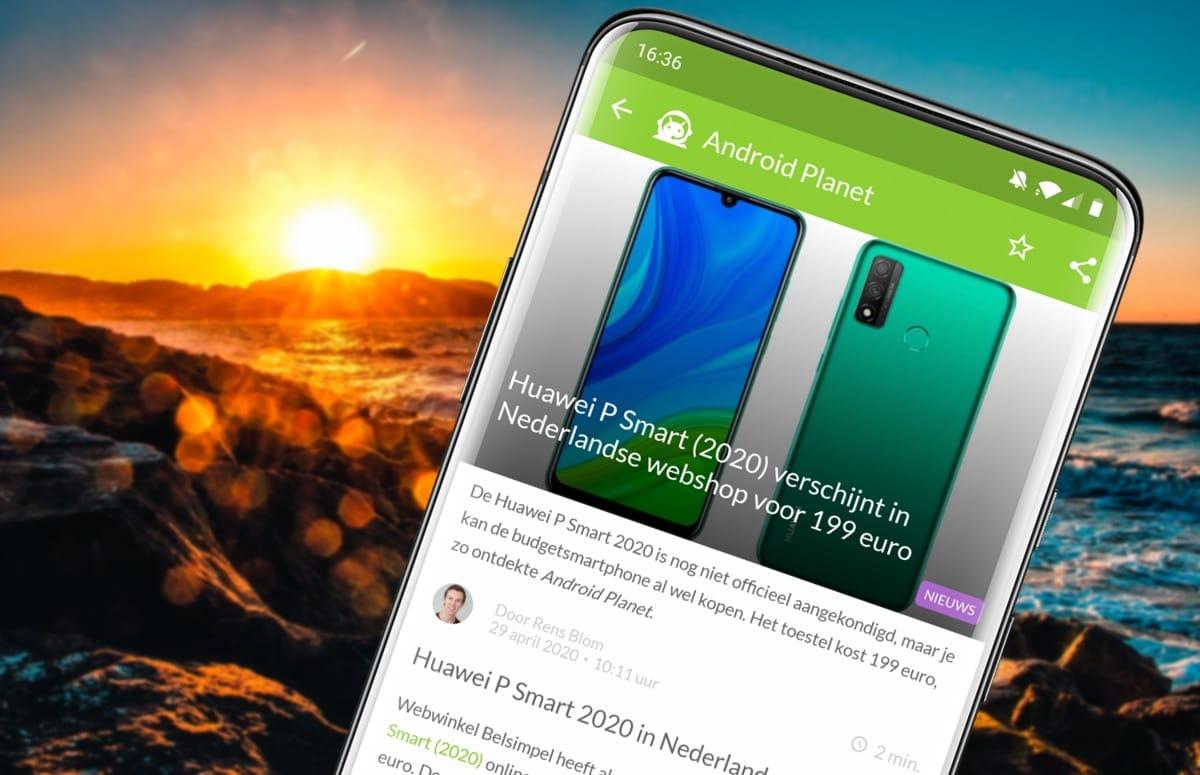 Android-nieuws #18: 5G in Nederland, Huawei P Smart (2020) en meer