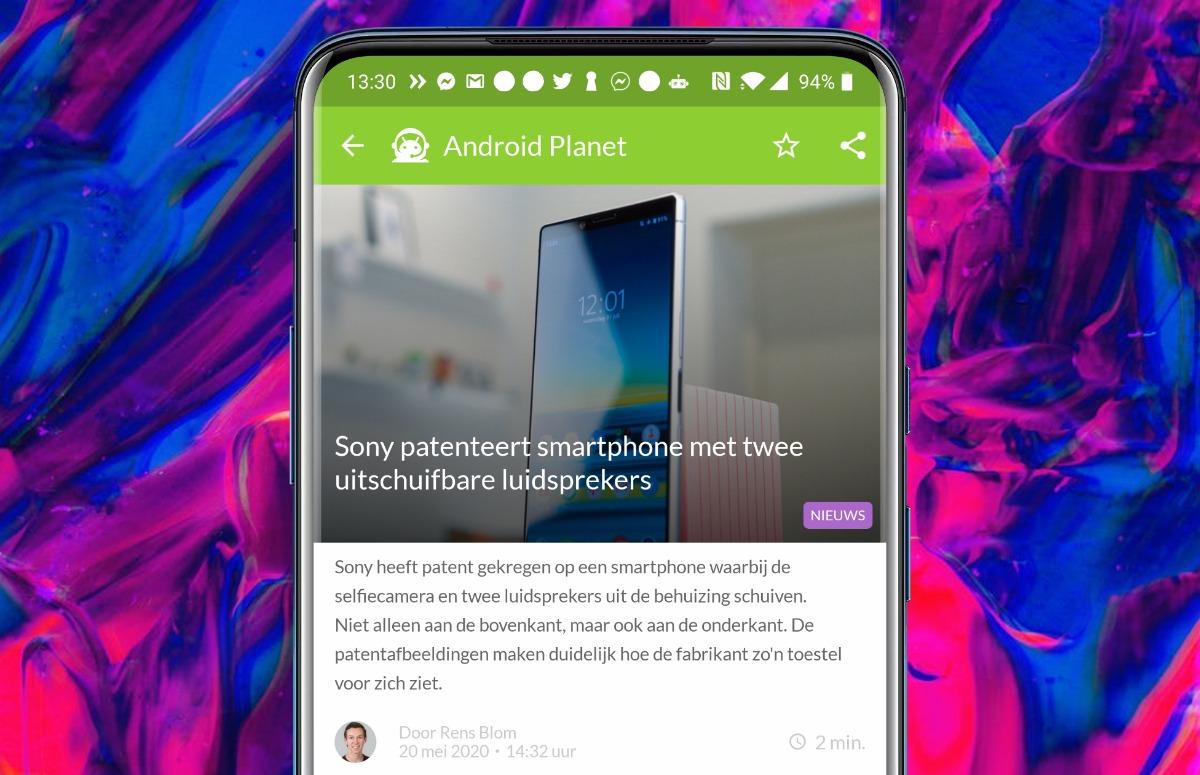 Android-nieuws #21: Uitschuifbare Sony-telefoon en eerste beelden Galaxy Note 20