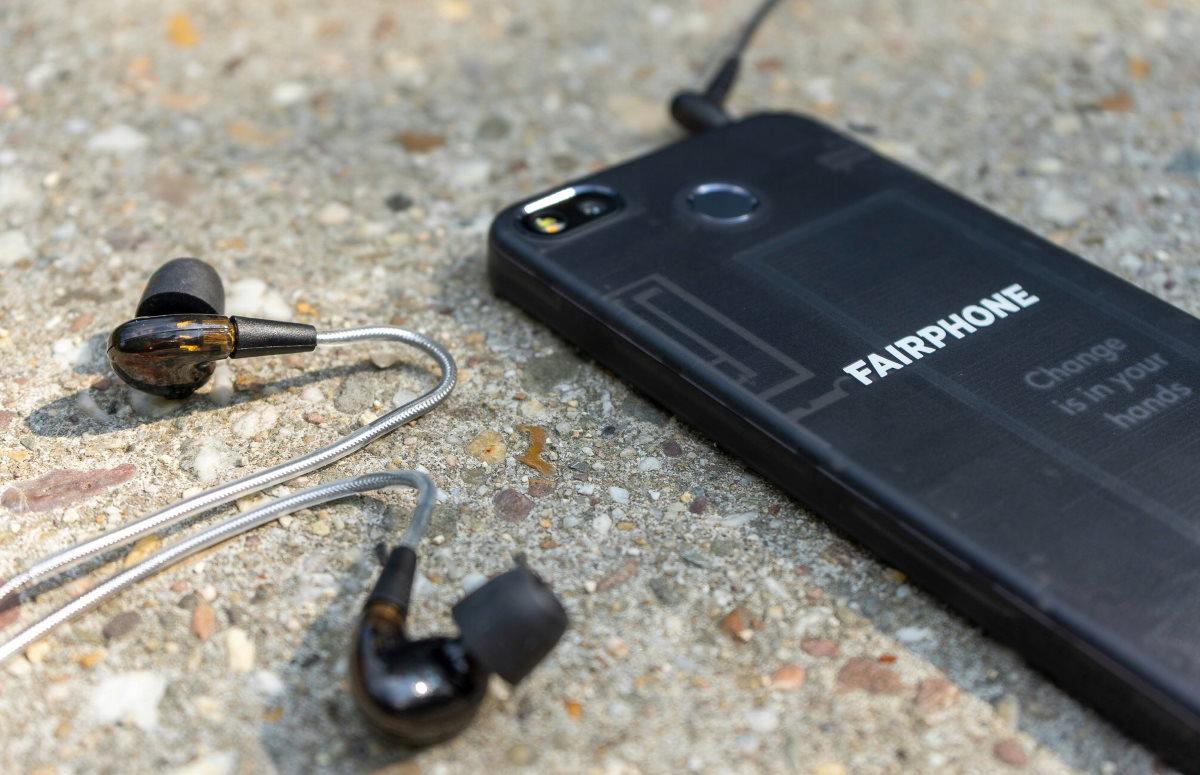 Fairphone oordopjes