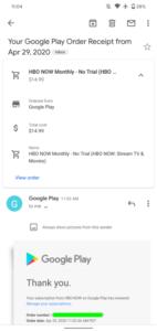 Overzichtskaart Gmail
