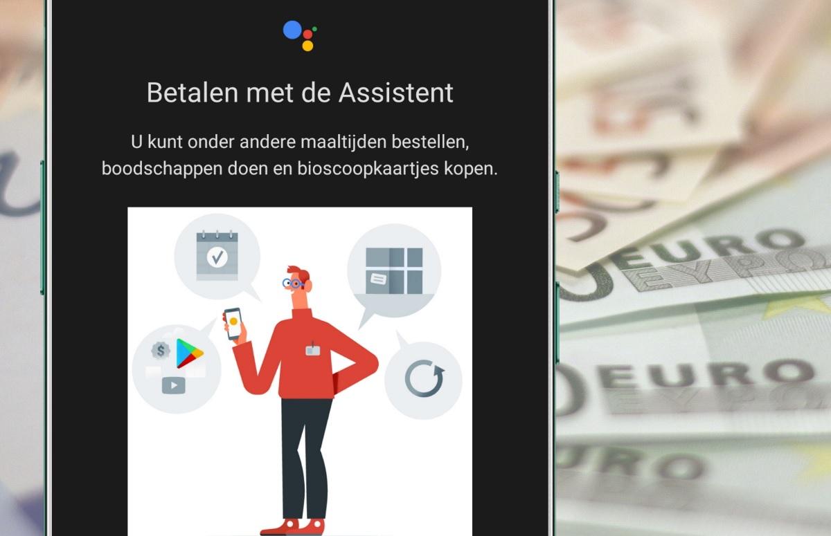 Google test mogelijkheid om te betalen via Assistent met stemcommando