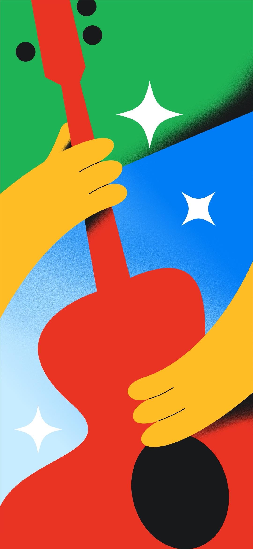 Downloaden: dit zijn alle officiële Google Pixel 4a wallpapers