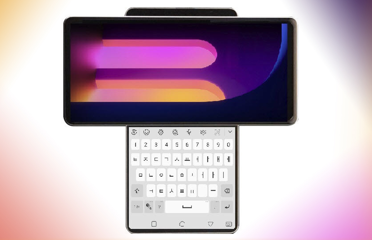LG werkt mogelijk aan smartphone met kantelbaar scherm