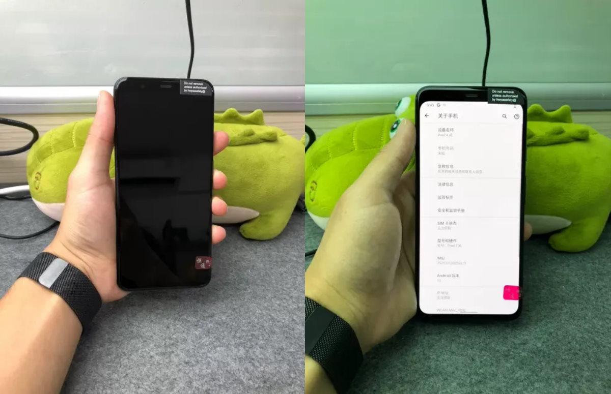Pixel 4 XL grijs