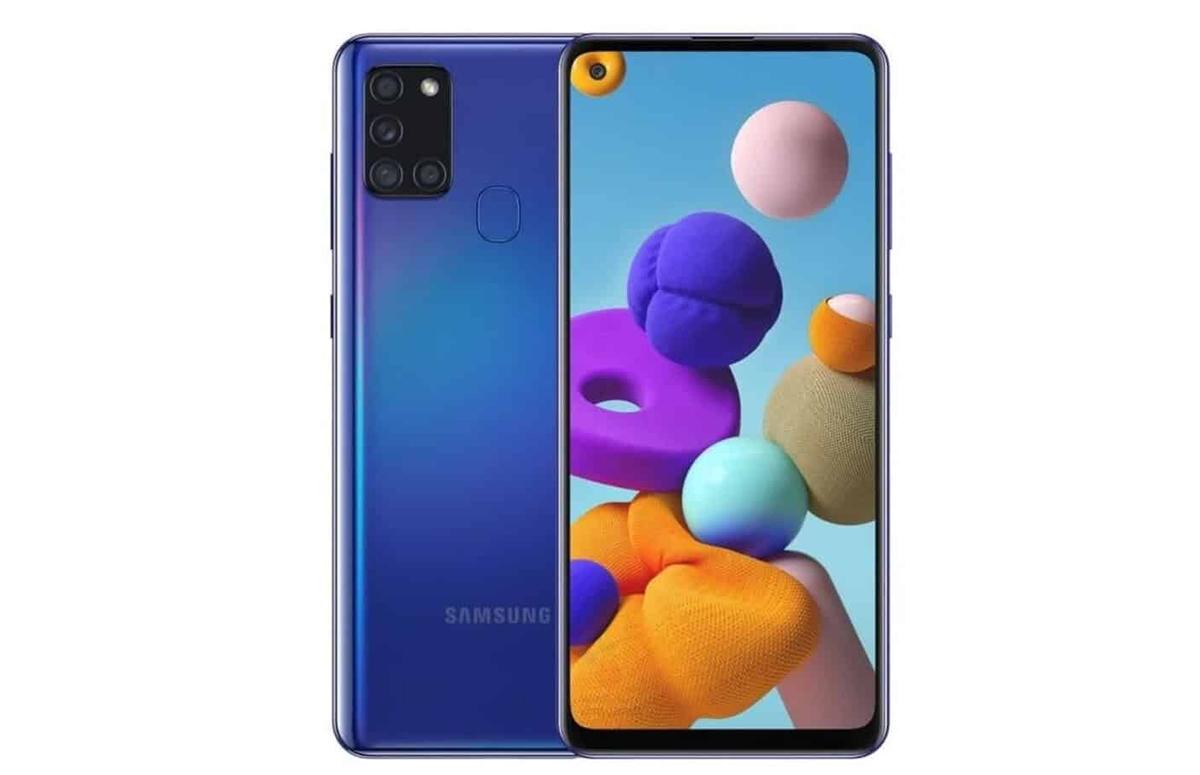 Samsung Galaxy A21s officieel