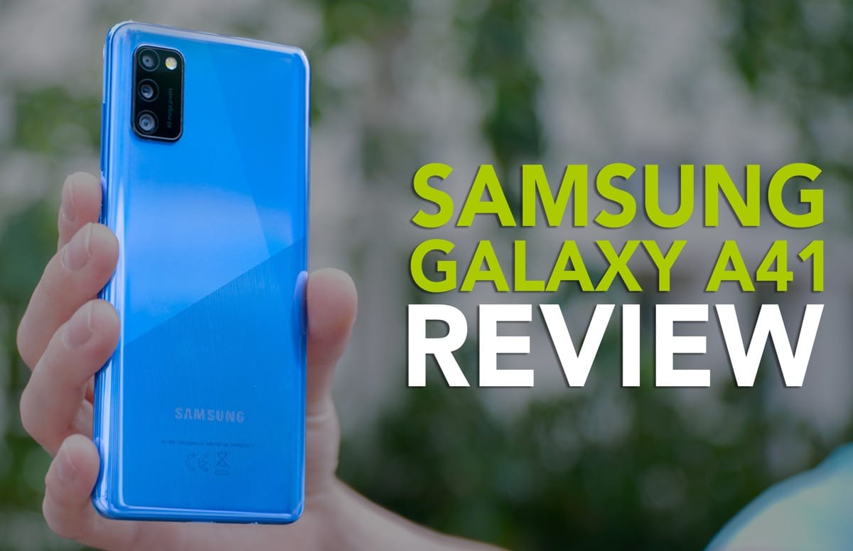 Videoreview: Samsung Galaxy A41 is een compacte budgettopper