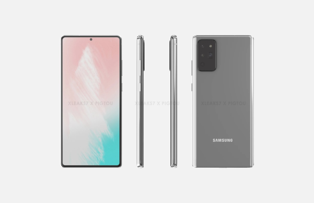 samsung galaxy note 20 renders