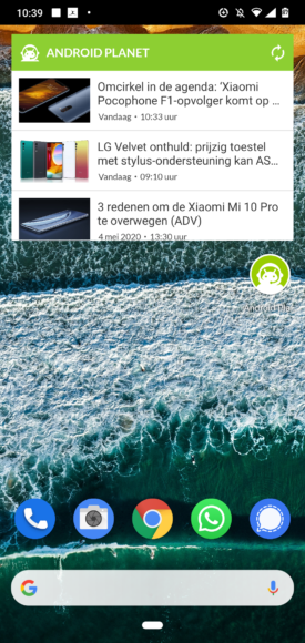 android personaliseren