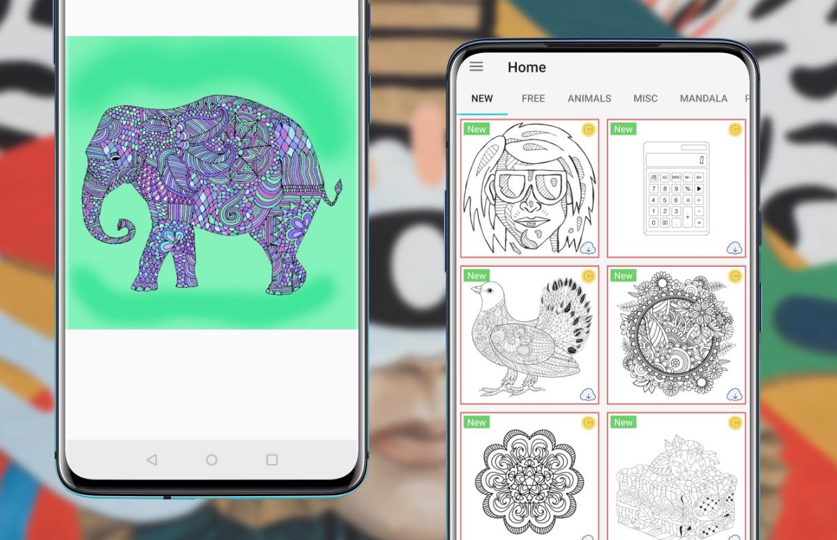 teken-app coloring