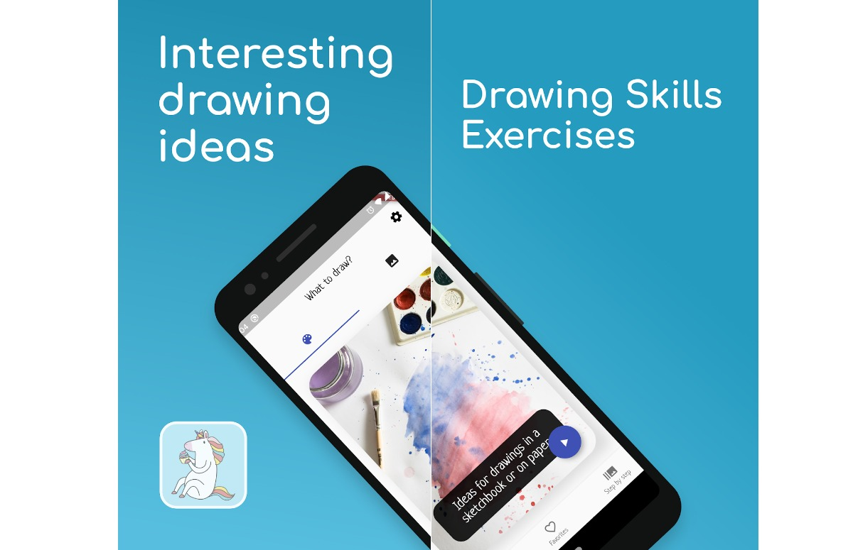 what to draw creatieve kinder-apps