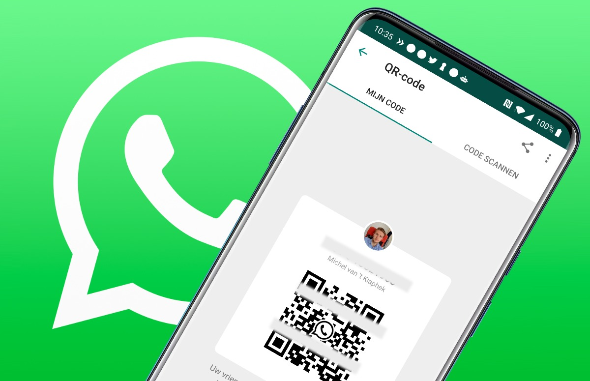 Tip: WhatsApp-contacten toevoegen via een qr-code