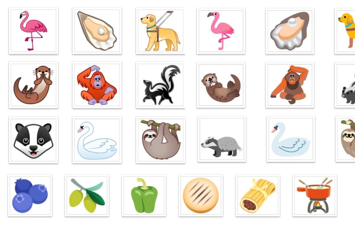 Dit zijn de 117 nieuwe emoji van Android 11