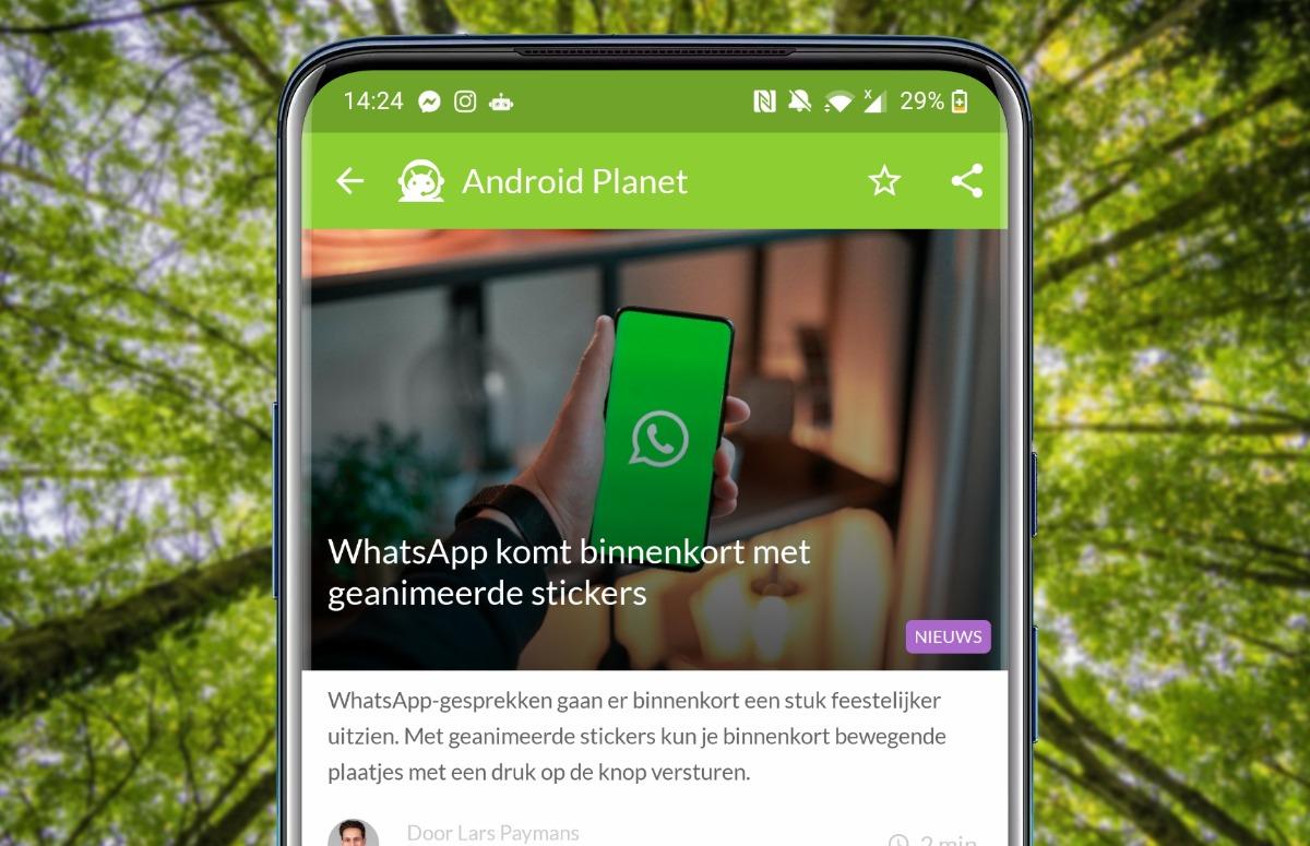Android-nieuws #26: Bewegende WhatsApp-stickers en update voor Huawei P30 (Pro)