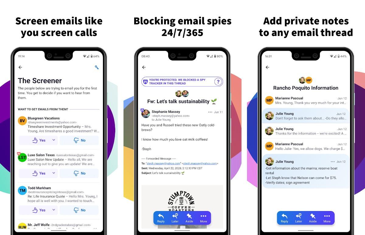 HEY Email beste android-apps van de week 25