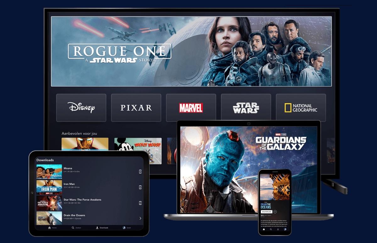 Disney Plus vanaf 15 september in België beschikbaar
