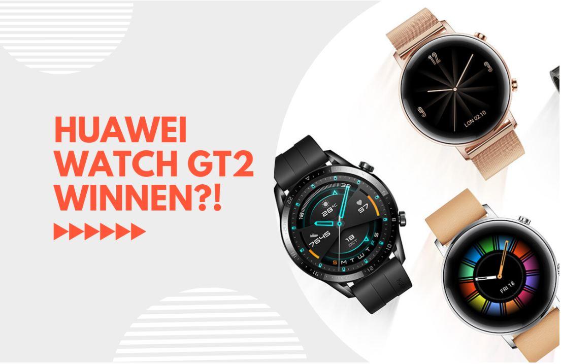 Winactie: winnaar Huawei Watch GT 2 bekend…
