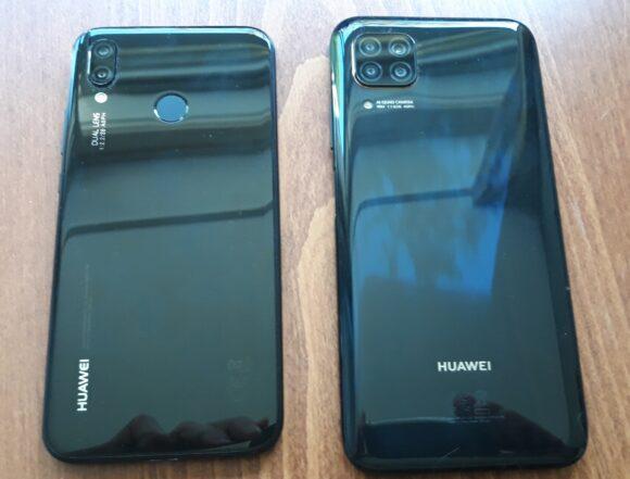 Huawei P20 Lite vs Huawei P40 Lite