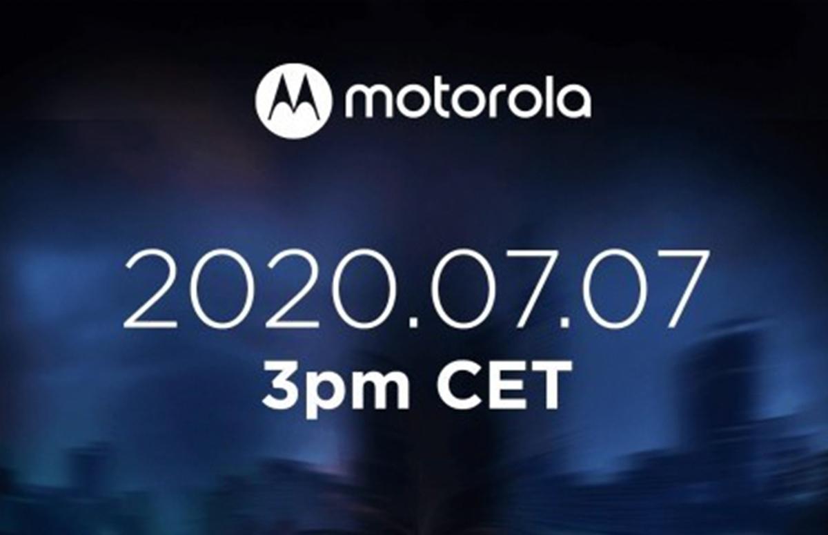 Motorola Edge Lite-aankondiging vindt waarschijnlijk plaats op 7 juli
