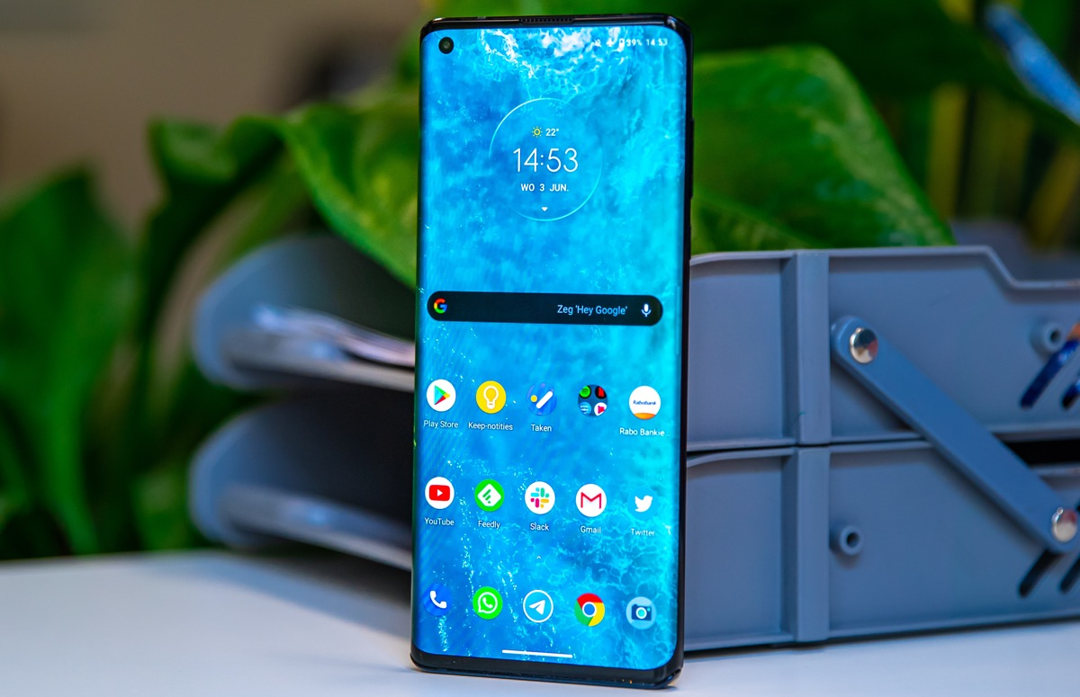 'Opvolger Motorola Edge krijgt 108 megapixel-camera'