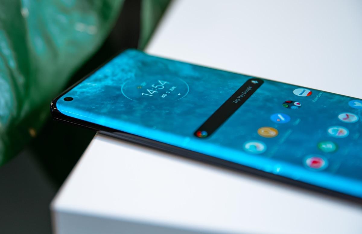 'Motorola Edge-schermproblemen op te lossen met software-update'