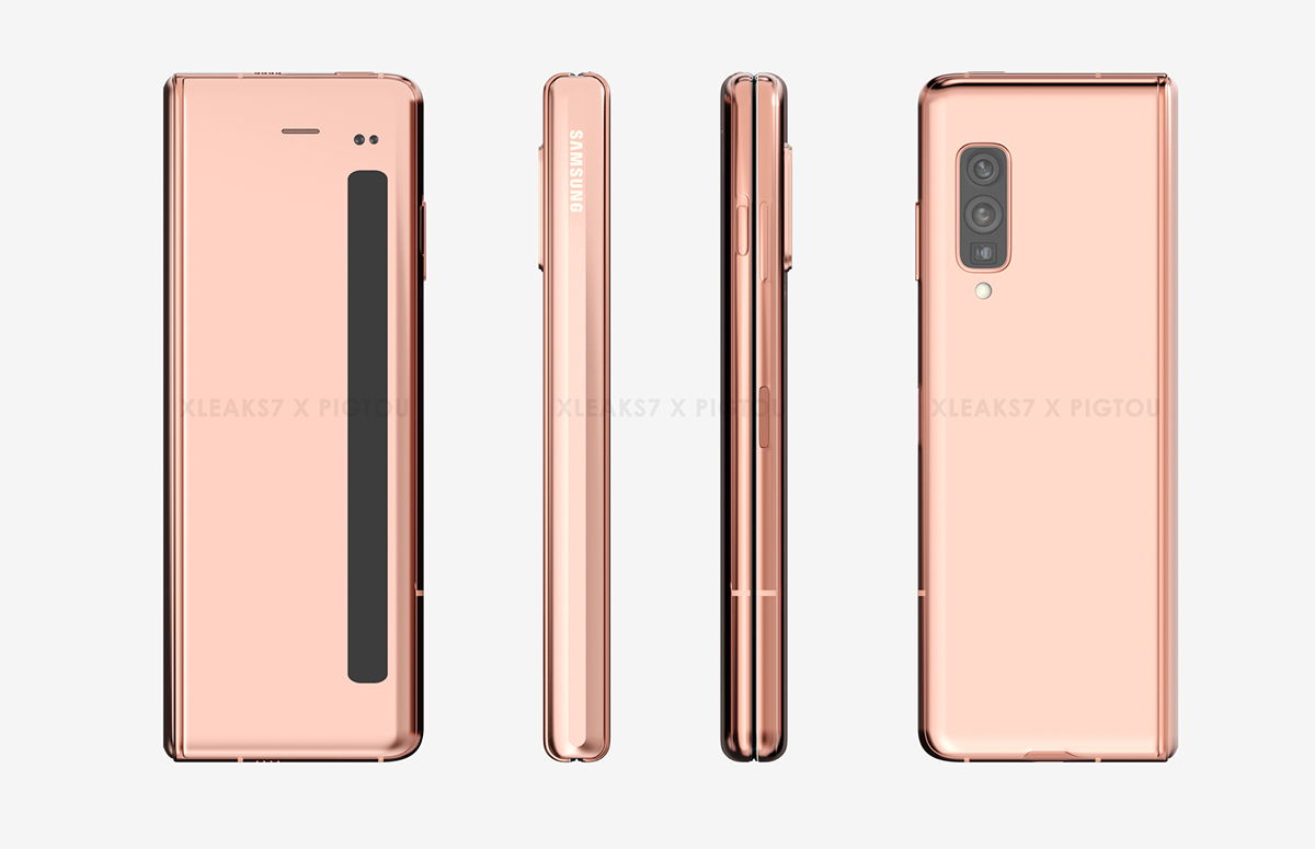 Samsung galaxy fold 2 renders patent