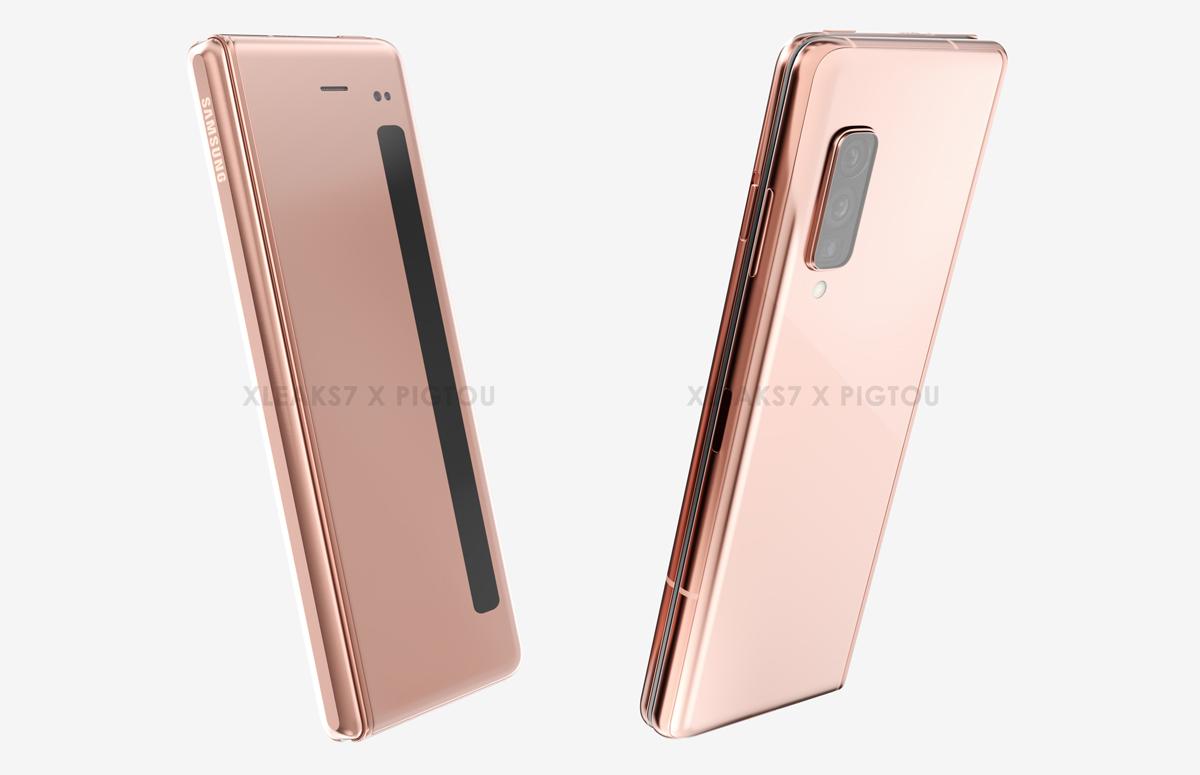 Samsung Galaxy Fold 2 renders op basis van nieuw patent tonen interessante details