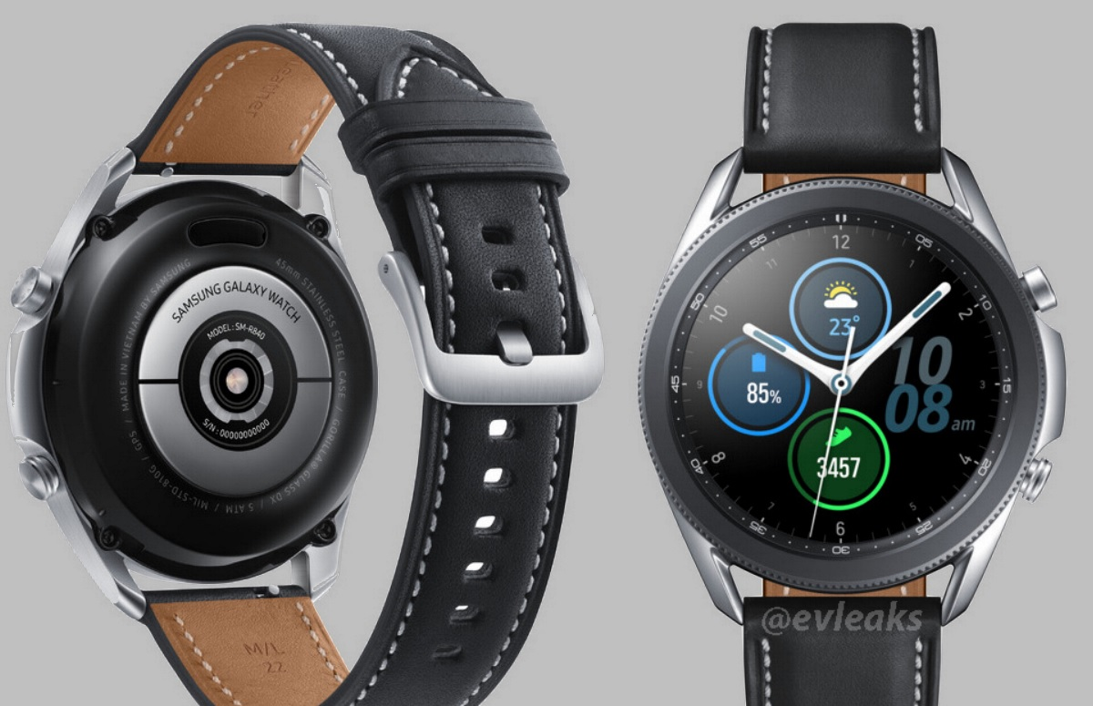 Foto's: 'Dit is de nieuwe Samsung Galaxy Watch 3'