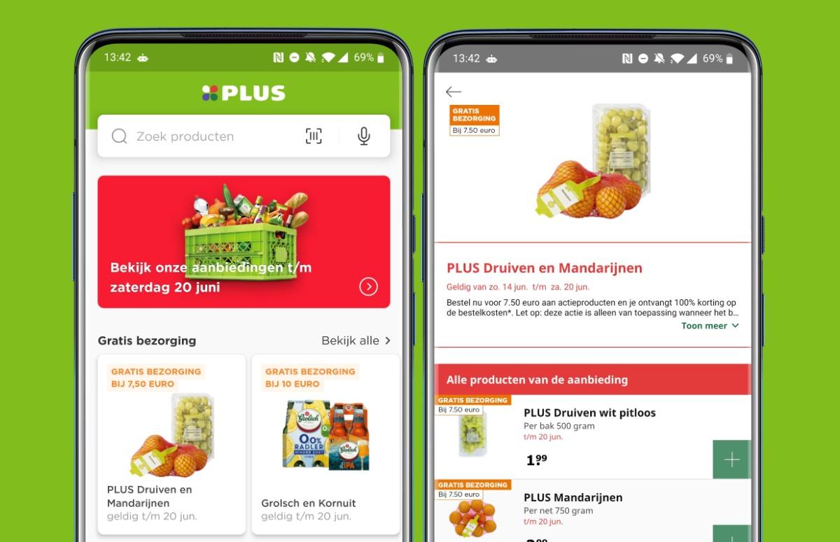 Supermarkt-apps