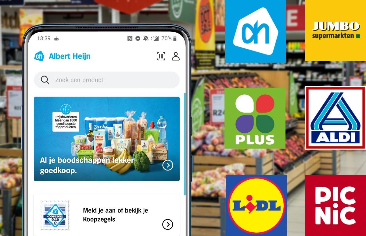 Vergelijking: 6 supermarkt-apps langs de meetlat