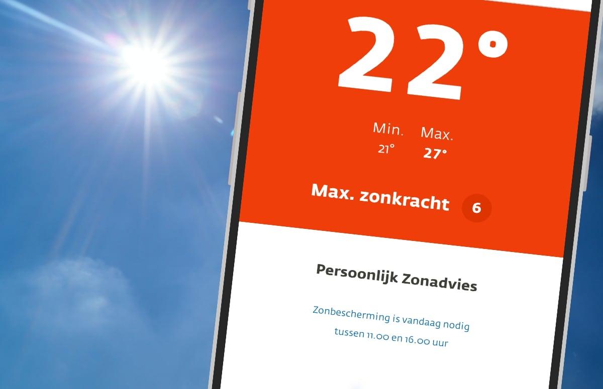 Deze 4 apps helpen je te beschermen tegen de zon