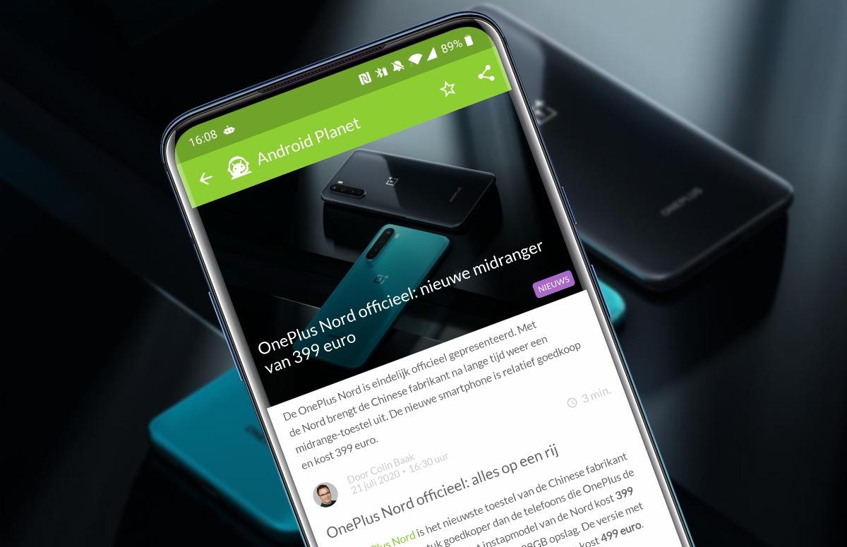 Android-nieuws #30: OnePlus Nord onthuld en Samsung Note 20 ligt op straat