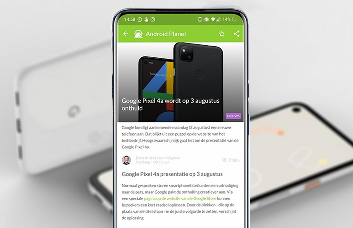 Android-nieuws #31: Pixel 4a-onthulling op 3 augustus en Galaxy Note 20-prijzen