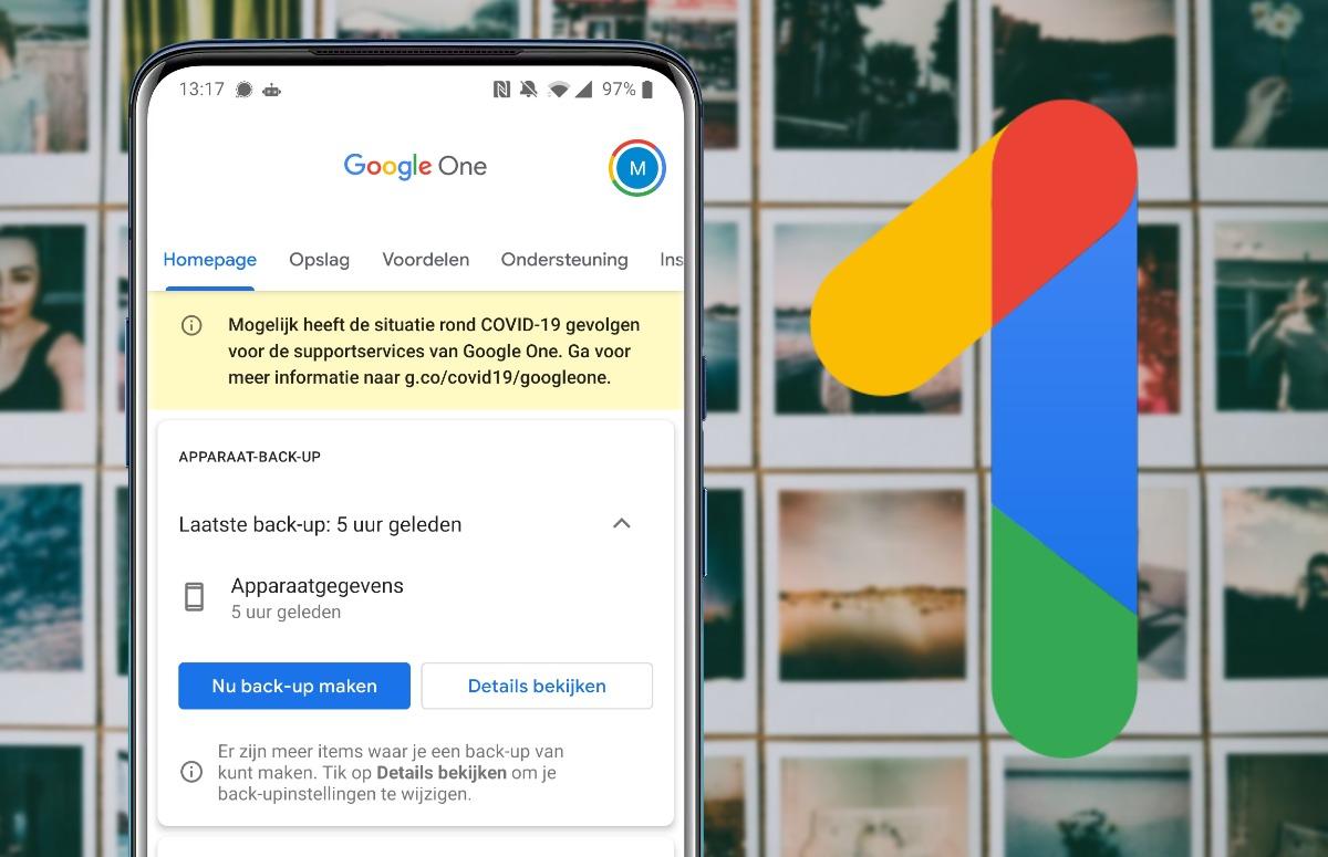 Tip: Maak gratis een automatische back-up van je telefoon met Google One