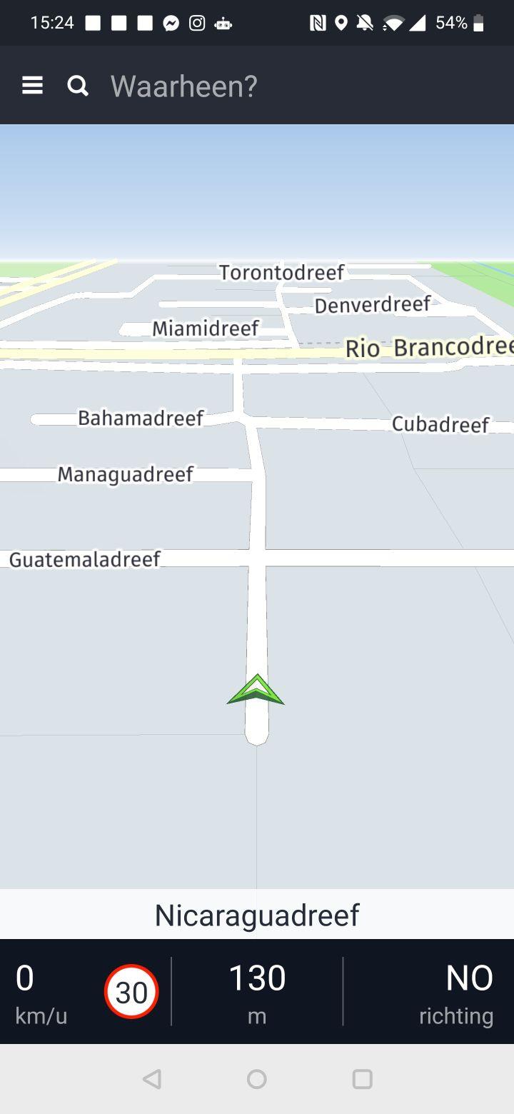 beste navigatie-app buitenland screenshots google maps waze here we go magic earth (19)