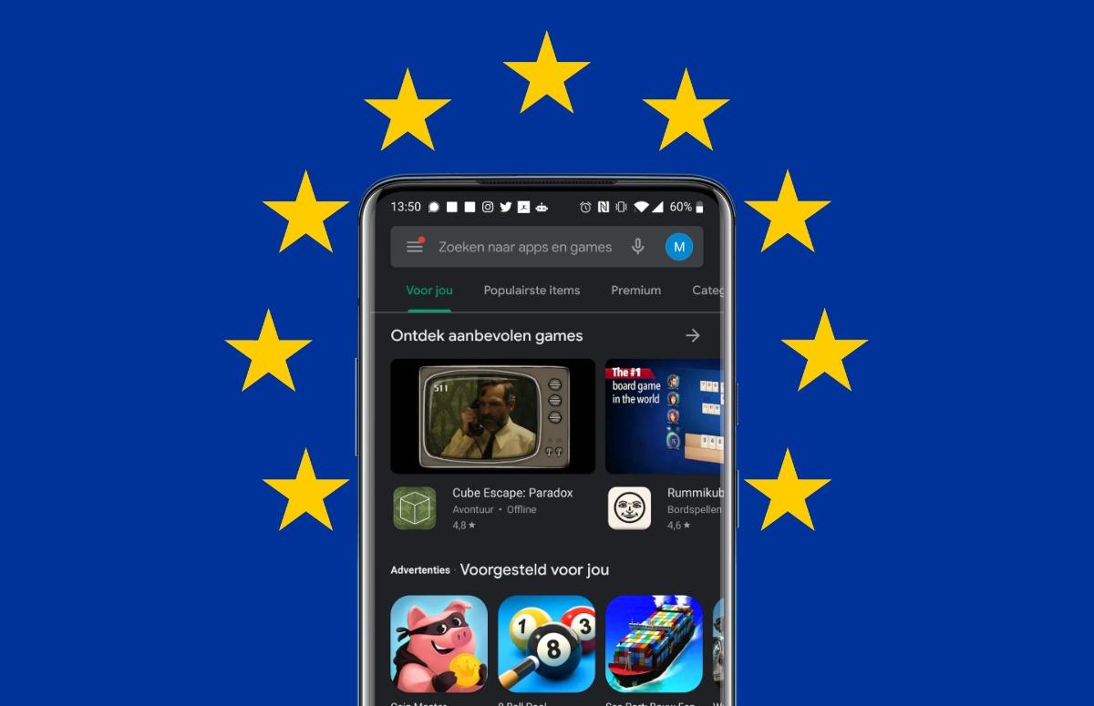 Zo bezoek je de Google Play Store van andere Europese landen