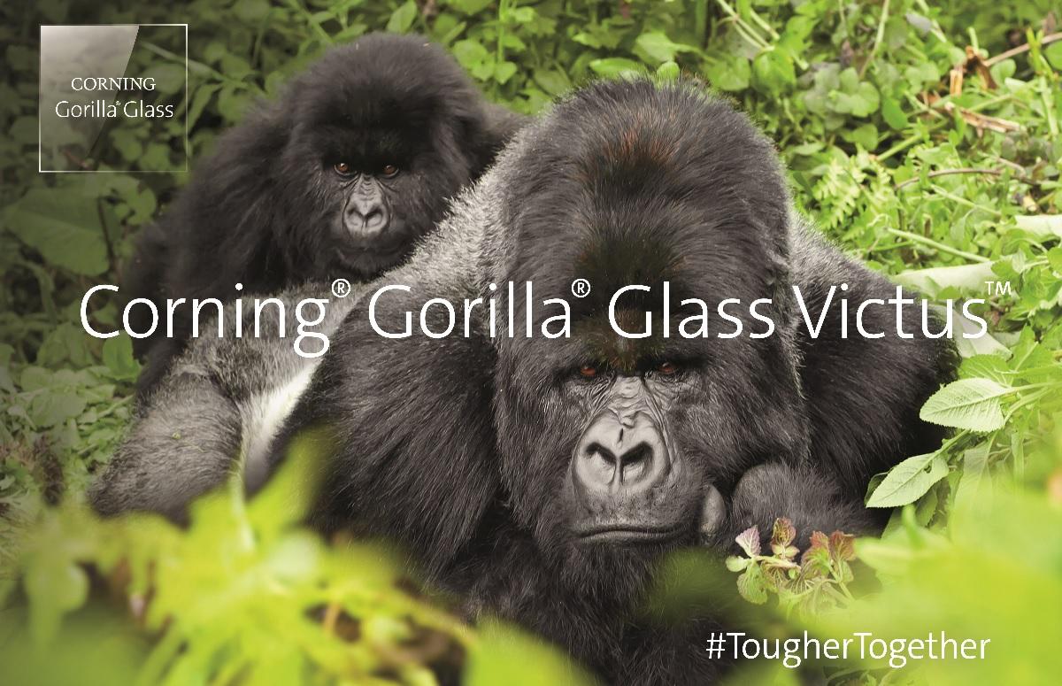 Gorilla Glass Victus: overleeft vallen tot 2 meter en is nog krasvaster
