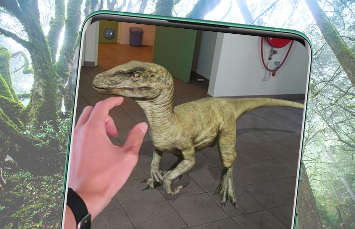 Tip: projecteer dinosauriërs in je kamer via Google
