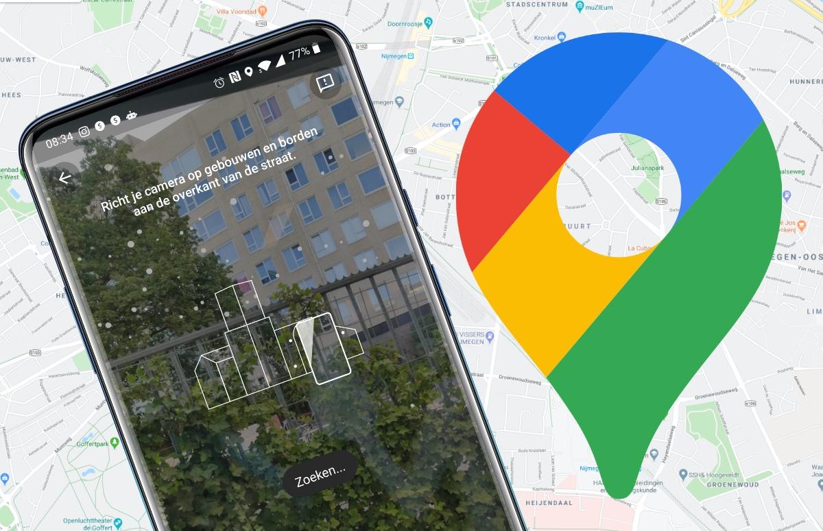 Google Maps voegt functie toe zodat je exact weet waar je bent