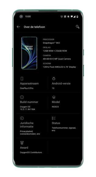 OnePlus 8 Pro update