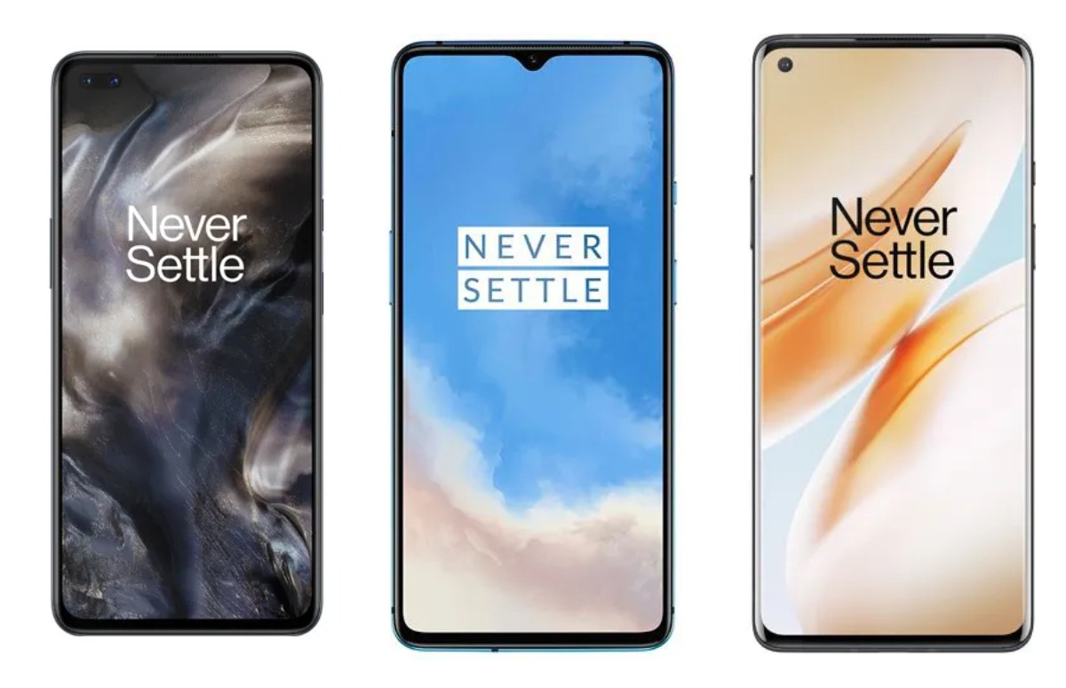 Vergelijking: OnePlus Nord, OnePlus 8 en OnePlus 7T langs de meetlat