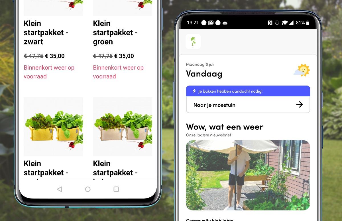 Planten-app Makkelijke Moestuin App