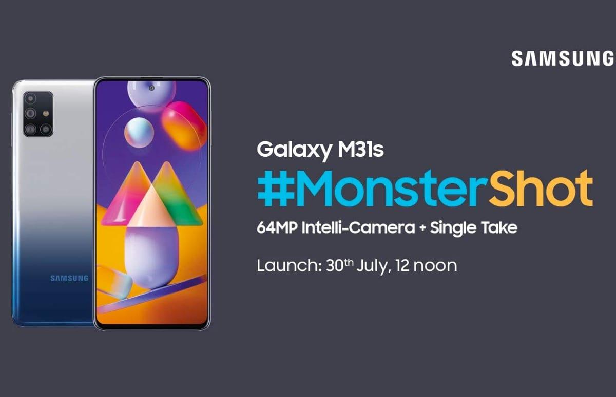 'Samsung Galaxy M31s met 6000 mAh-accu verschijnt eind deze maand'