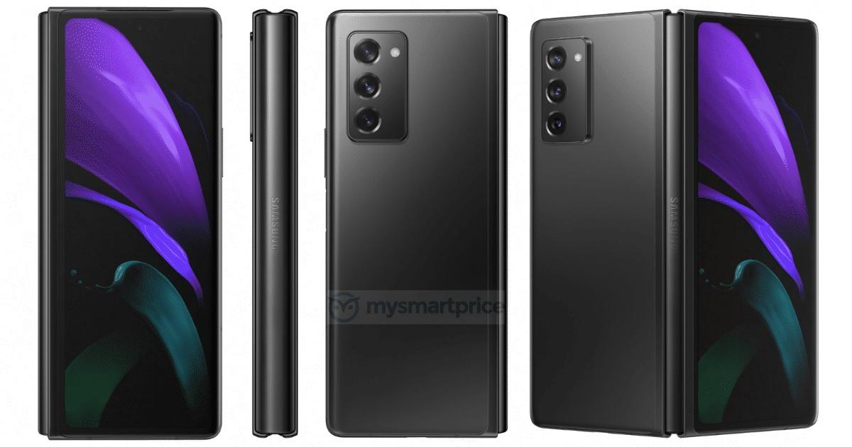 Samsung Galaxy Z Fold 2 afbeeldingen