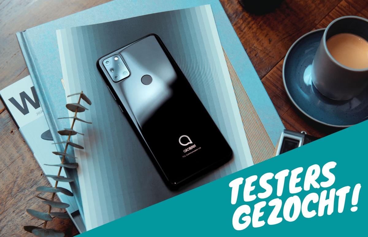 Gezocht: 3 testers voor de gloednieuwe Alcatel 3X (2020) (ADV)