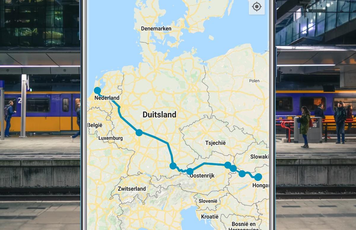 Deze 3 apps zorgen ervoor dat je buitenlandse treinreis niet ontspoort