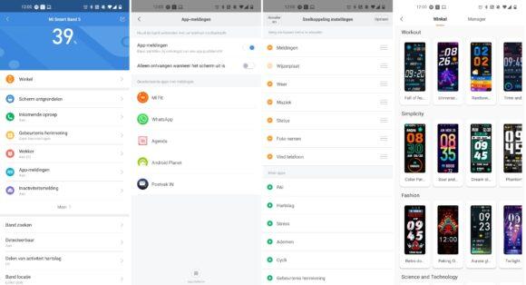 Xiaomi Mi Fit-app